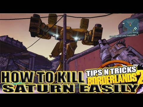 how to defeat saturn on borderlands 2