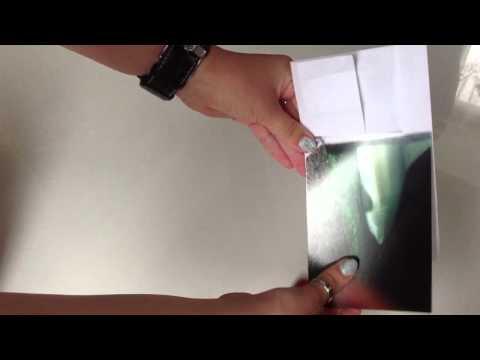 Bilderrahmen mit Origami basteln- Rahmen aus Papier