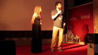 Andrea Canova introduce Il Vicino all'Ischia Film Festival 2014