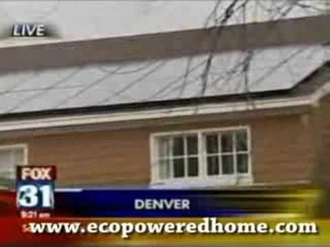 News Agency shows a 100% Solar Powered House