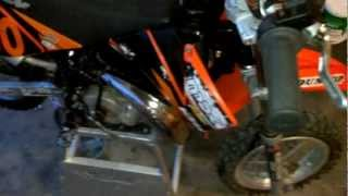 10. 2002 KTM Mini Adventure new bottom and top end