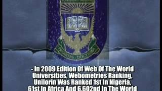 University of Ilorin YouTube video