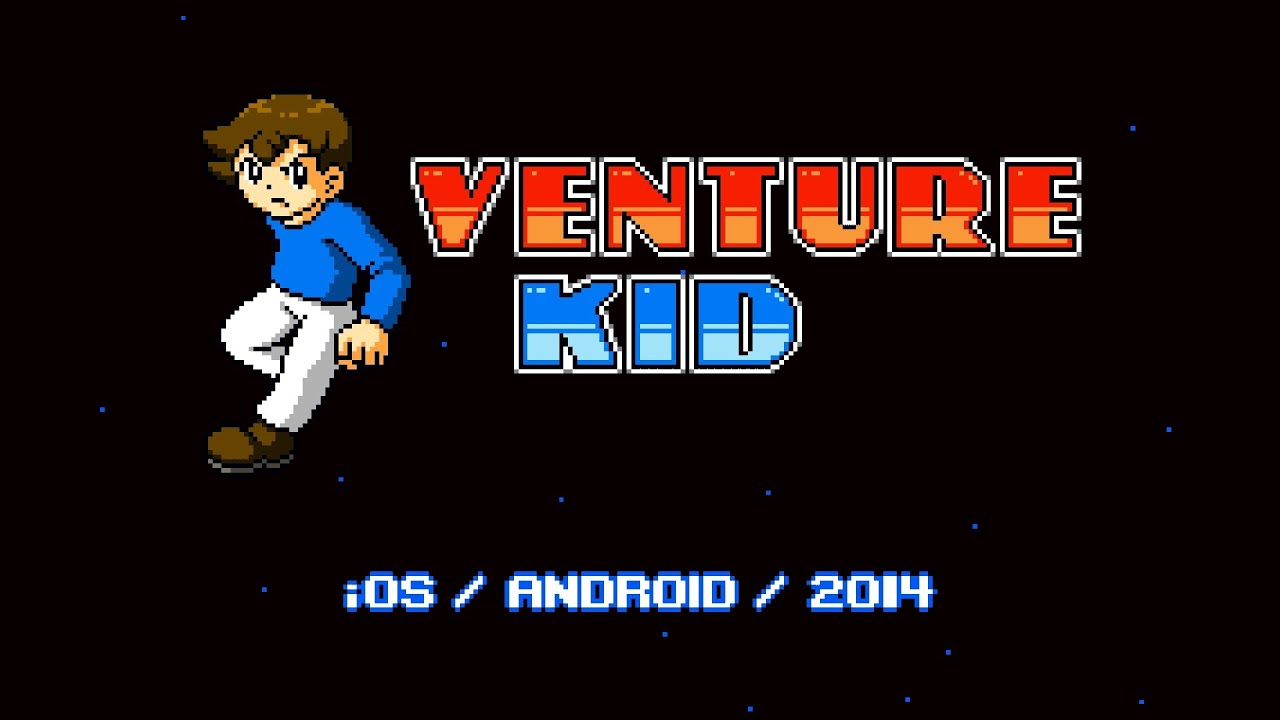 Upcoming Platformer 'Venture Kid' Looks Like it Would be Right at Home on the NES