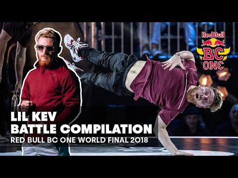 Lil Kev Battle Compilation | Red Bull BC One World Final 2018