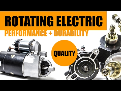 Sierra Rotating Electric for Marine Engines - Full Length