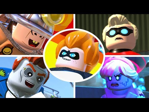 LEGO The Incredibles - All Bosses & Ending (видео)