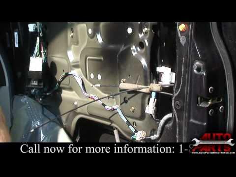2004 Nissan Titan Window Motor Repair Part 1