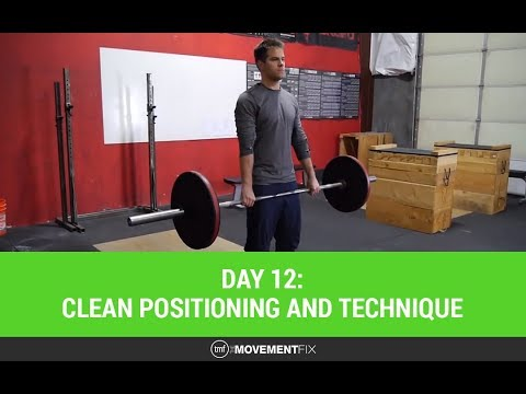 CrossFit Clean Positioning and Technique Mobility