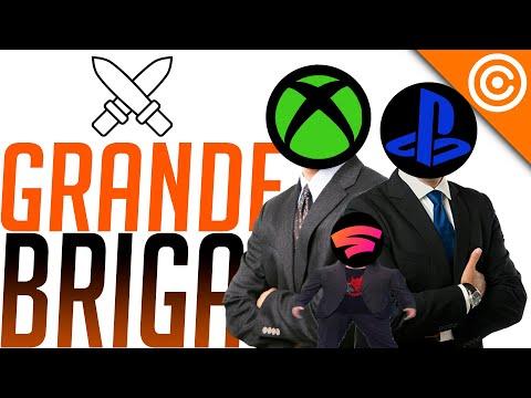 Playstation, Xbox e Stadia BRIGANDO para COMPRAR estúdios de GAMES