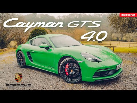 Porsche 718 Cayman GTS 4.0 - Is this the best all-round sports car on the market? 4K Review