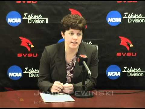 Jamie Pewinski - GVSU Postgame Press Conference