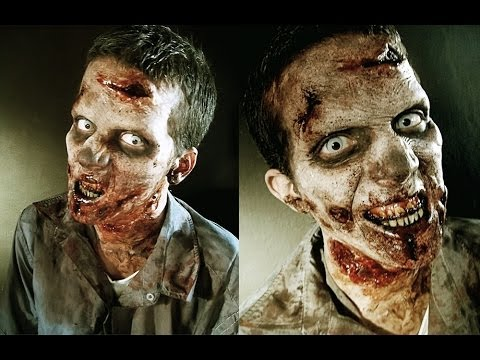 The Walking Dead: Zombie Makeup Tutorial