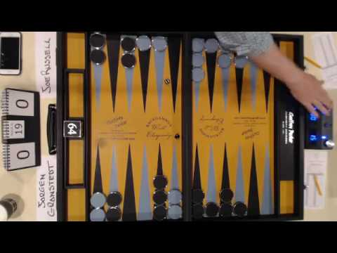 2016 Backgammon World Championship Final - Game 1 (Abridged)