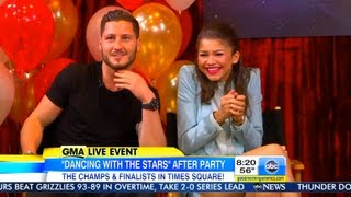 GMA DWTS Afterparty ~ TOP 4 ~ 5-22-13 ~ Part 1
