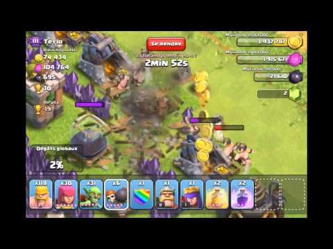 comment gagner beaucoup d'elixir dans clash of clans