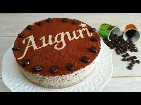 torta fredda al caffè senza cottura - ricetta