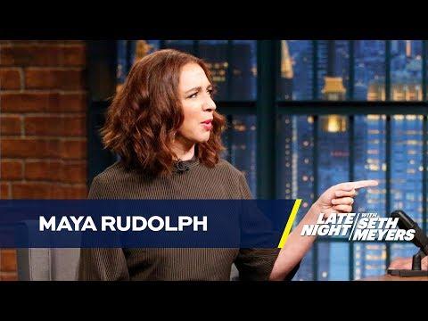 Maya Rudolph Struggled Getting into Character as Cartoon Emoji
