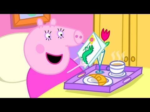 Peppa Pig português - Peppa Pig em Português Feliz Dia das Mães Compilação  Desenhos Animados #