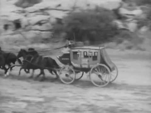 Tales Of Wells Fargo, S01E06 - Shotgun Messenger, Classic Western TV, Michael Landon