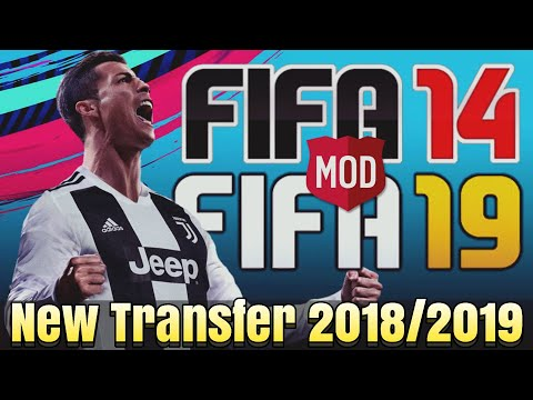 Fifa 14 Mod Fifa 19 New Update Kits & Player 2018/2019 | Ronaldo Juventus
