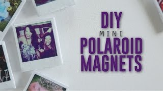 DIY MINI POLAROID MAGNETS - YouTube