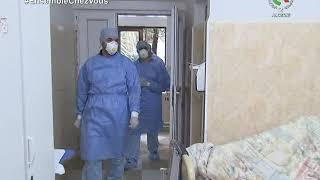 Reportage inédit au service de pneumologie de beni messous avec personnes atteintes covid-19
