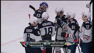 Metallurg Mg 1 Severstal 0, 18 November 2017 Highlights