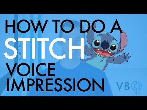 """How To Do A Stitch Voice Impression"" - Voice Breakdown Ep. 6"