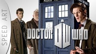 This is my first Speedart in Photoshop, starting with Doctor Who! Download Wallpaper (1920 x 1080) http://goo.gl/E3gOju.