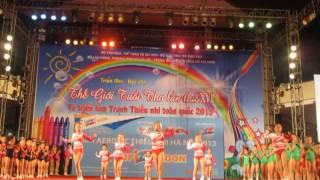 Giải Aerobic thiếu nhi Hà Nội 2013 - Cup Izzi Ngon - Màn mở đầu