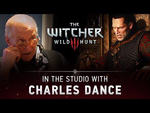 Charles Dance jako Emhyr var Emreis w grze Wiedźmin 3: Dziki Gon