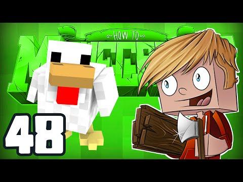 "Minecraft: HOW TO MINECRAFT! ""Animal Breeding!"" Episode 48 (Minecraft 1.8 SMP/Lets Play!)"