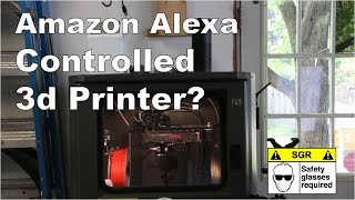Voice Control your 3d Printer?