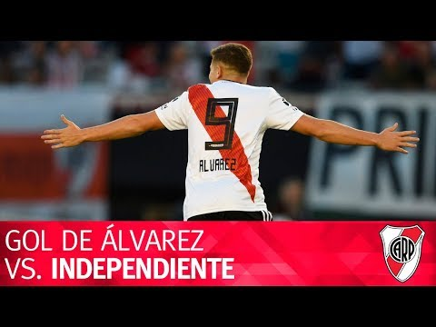 Gol de Julián Álvarez vs. Independiente
