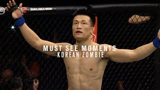 Must See Moments: The Korean Zombie - Chan Sung Jung by UFC