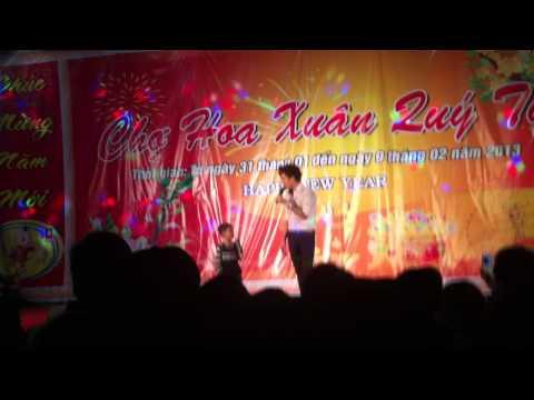 Lâm Chấn Huy và ca sĩ nhí