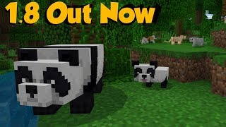 Minecraft 1.8 Out NOW - ALL Features Explored & Explained