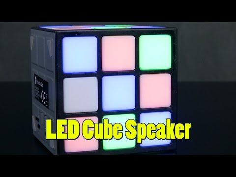 LED Cube Speaker from thumbsUp!, Ltd