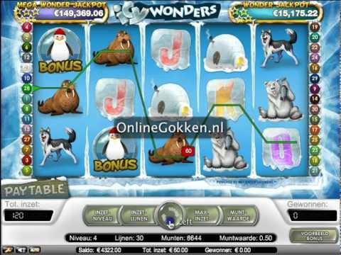 Icy Wonders Video Slot op Onlinegokken.nl