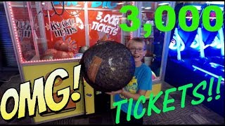 Video #28 Landon playing at the Arcade! OMG TICKETS!! MP3, 3GP, MP4, WEBM, AVI, FLV Mei 2018