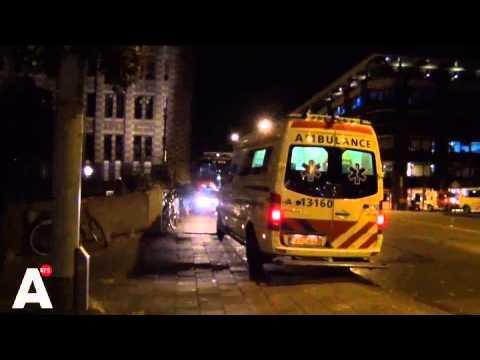 Vrouwen opgesloten in parkeergarage Amsterdam na brandalarm