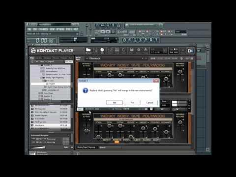 Synth Magic Wonky Noisy Tape Polymoog Test