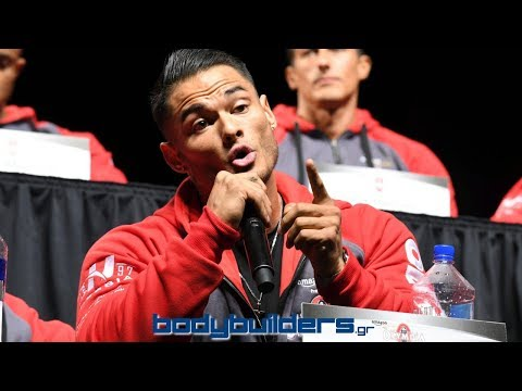 Buen dia - Jeremy Buendia Heated Exchange At The 2017 Olympia Press Conference
