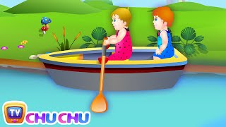 Row Row Row Your Boat Lullaby Song - Nursery Rhymes Songs for Children