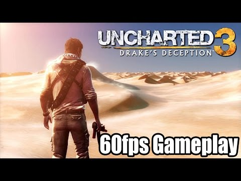 uncharted - Remember to select 720p or 1080p for 60fps HD◅◅ Here is some Uncharted 3 gameplay running at 60fps (despite the game only running at 30fps). This was a promo video released by Sony,...