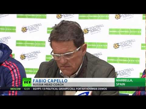 Capello In Marbella with Football Impact