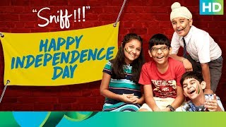 "Sunny Gill and his Agents of Sniff tell us what they want freedom from, this Independence Day! Sniff will be in theatres, this August 25th.You can download the Sniff game here: https://play.google.com/store/apps/details?id=com.viaan.sniffMovie Name: SniffDirector: Amole GupteProducer: Jyoti Deshpande, Amole Gupte & Ajit ThakurMusic Director: Mujtaba Aziz Naza""Sniff"" releases in theatres on 25th August, 2017To watch more log on to http://www.erosnow.comFor all the updates on our movies and more:https://twitter.com/#!/ErosNowhttps://www.facebook.com/ErosNowhttps://www.facebook.com/erosmusicindiahttps://plus.google.com/+erosentertainmenthttps://www.instagram.com/eros_nowhttp://www.dailymotion.com/ErosNowhttps://vine.co/ErosNow http://blog.erosnow.com"