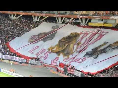 Hinchada. Estudiantes 2-1 Independiente SF. Copa Libertadores 2015 - Los Leales - Estudiantes de La Plata - Argentina - América del Sur