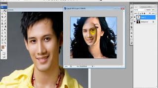 Photoshop - Ghép Mặt Người đơn Giản Với Pentool.