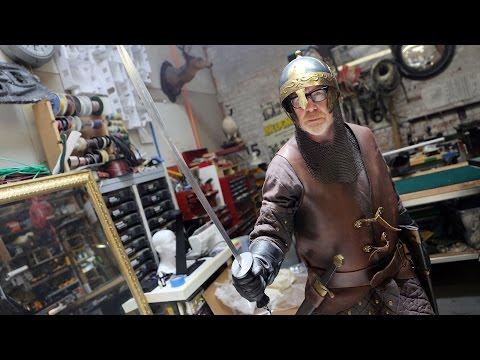 Adam Savage's New Medieval Armor Costume!